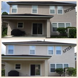 Investment Painting of North Fl Before & After