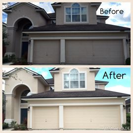 Investment Painting of North Fl Before and After