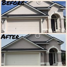 Investment Painting of North Fl - Before & After